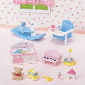 Details About Sylvanian Families Calico Critters Baby Nursery Furniture Accessories