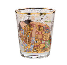 Gustav Klimt - Die Erfüllung - Windlicht von Goebel 10 cm hoch 66-900-83-8