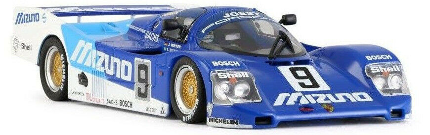 Slot It  Mizuno  Porsche 962C LH - 1990 Le Mans 1 32 Scale slot Car CA03I