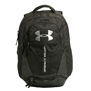 568fb6c6a43d Details about Under Armour Storm Hustle II Backpack 1263964-001 Black, Gray
