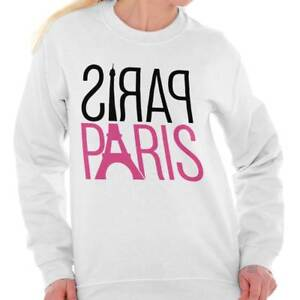 Paris-City-of-Love-Romantic-Couple-France-Sweat-Shirt-Sweatshirt-For-Womens