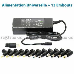 Chargeur PC portable Universel Adaptateur Packard Bell eMachines 13 Embouts