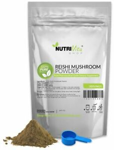 NVS-100-PURE-REISHI-MUSHROOM-POWDER-DETOX-ORGANIC-GROWN-NONGMO-USA-VEGAN-USP