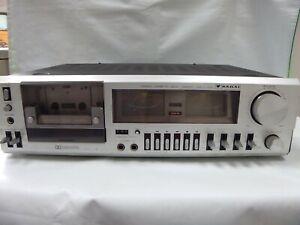Sakai-CD3010-estereo-reproductor-de-cinta-de-Cassette-Deck-Dolby-NR-Analogo-indicador-de-Japon