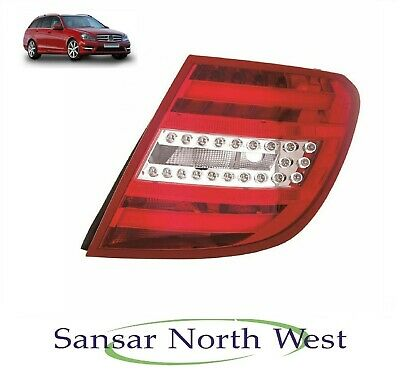 MERCEDES BENZ C CLASS W204 2011-/> REAR TAIL LIGHT DRIVERS SIDE O//S