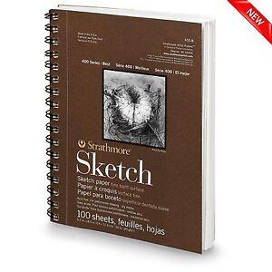 100-Sheet-Sketch-Pad-Notebook-9-034-x-12-034-Premium-Art-Sketchbook-Drawing-Paper-Book