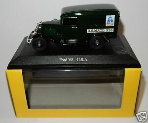 RARE ELIGOR FORD V8 SUISSE POSTES POSTE PTT 1//43 IN LUXE BOX
