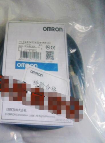 1PC Omron proximity switch E2A-M12KS04-WP-C2 E2AM12KS04WPC2 NEW #F0
