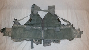 LIGHTWEIGHT-MOLLE-II-ACU-FLC-ADJUSTABLE-FIGHTING-LOAD-CARRIER-W-POUCHES-JJ-1024