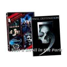 Final Destination: Complete Horror Movies Series 1 2 3 4 5 Box / DVD Set(s) NEW!