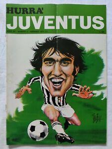 HURRA-039-JUVENTUS-N-2-FEBBRAIO-1974-LANEROSSI-VICENZA-MADUNINA-D-039-ORO-ALTAFINI