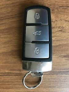 USED-GENUINE-01-09-06-12-VOLKSWAGEN-PASSAT-3CC-CHROME-REMOTE-KEY