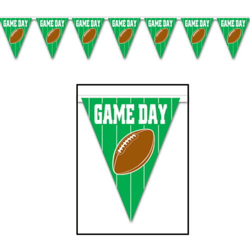 American football game day usa bunting pour fêtes d/'anniversaire!