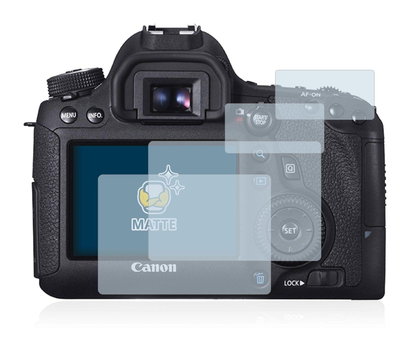 iLLumiShield Anti-Glare Matte Screen Protector 3x for Canon EOS 500D Rebel T1i