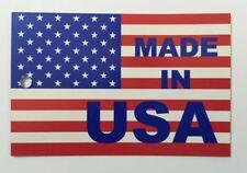 Made In Usa Hang Tags Printed 4 Color Process Both Sides 1000 Per Bundle