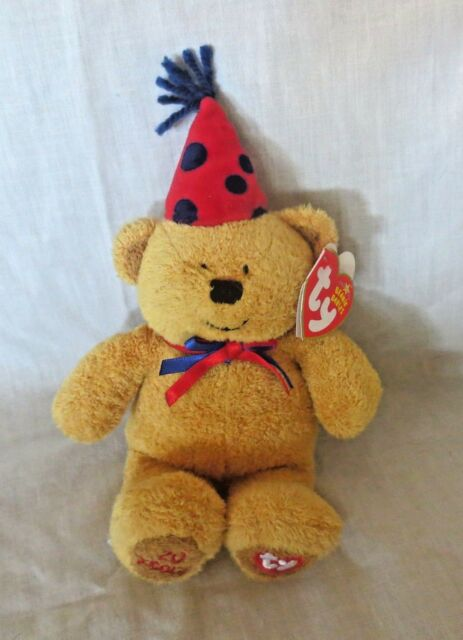 Ty Beanie Baby Set of 2 Fun   Laughter The 20th Anniversary Bears ... 0f16739a63e7