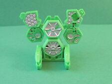 Bakugan Battle Turbine 70G Green Silver Ventus Battle Gear Gundalian Invaders S3