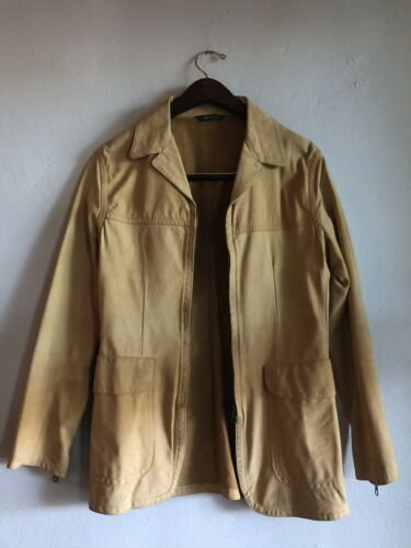 Romeo Gigli Vintage 80s Leather Jacket