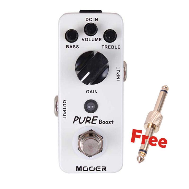 Nuevo Mooer Pure Boost realce limpio Micro Efectos De Guitarra Guitarra Guitarra Pedal   se descuenta