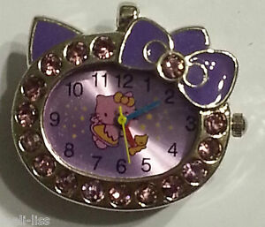 8 GB Jewellry Hello Kitty Purple Watch Pendant Memory Stick USB Flash Drive