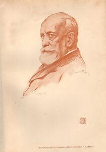 1902 Studio Aufdruck ~ Allgemeine Arthur Verschlingender Von F.E.Laszlo