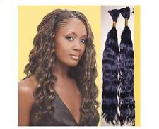 22'' Wavy Remy Human Hair Braiding Bulk Extensions 2oz
