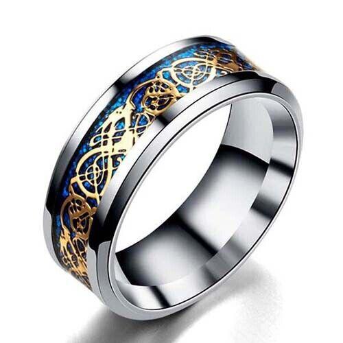 Titanium Unisex Ladies Wedding Band Engagement Ring siz