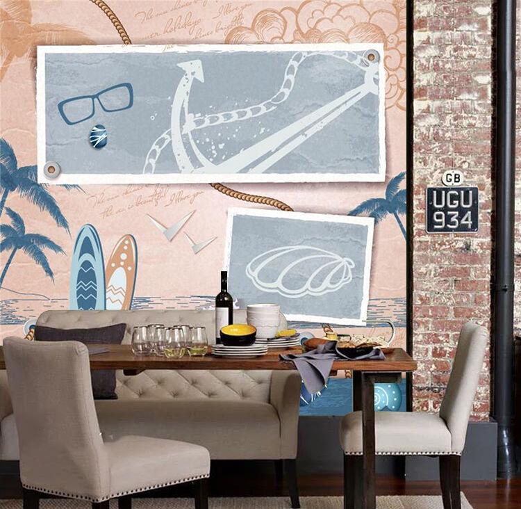 3D Sea Pattern 12 Wall Paper Wall Print Decal Wall Deco Indoor Wall Murals