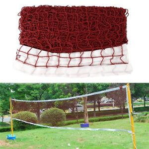 Badminton-Tennis-Volleyball-Net-For-Beach-Garden-Indoor-Outdoor-Games-Red