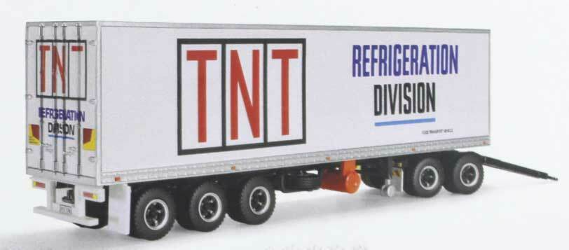 New Highway Replicas Freight Road Train Trailer TNT Refrigeration Division 12992