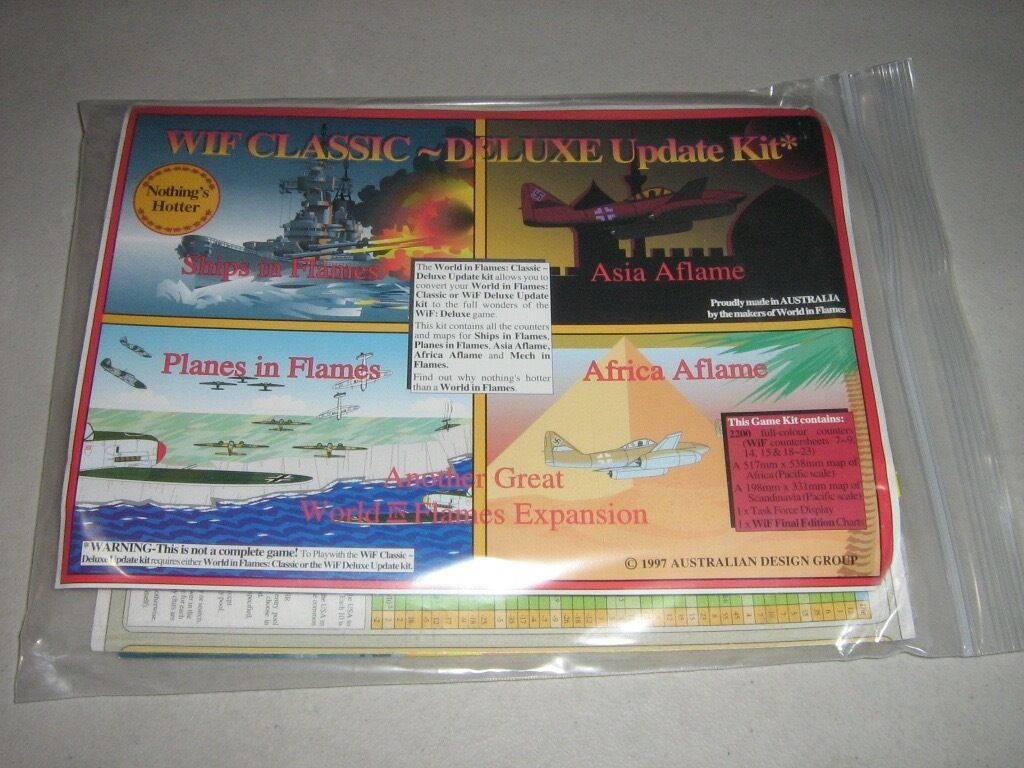 WiF Classic to Deluxe Update Kit (New)