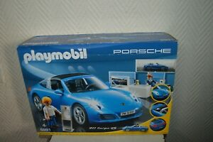 Playmobil Porsche 911 Targa 4S 5991 Brand New Factory Sealed and Free Shipping