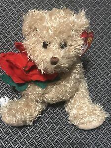 Ty Beanie Baby 2005 Holiday Teddy - MWMT