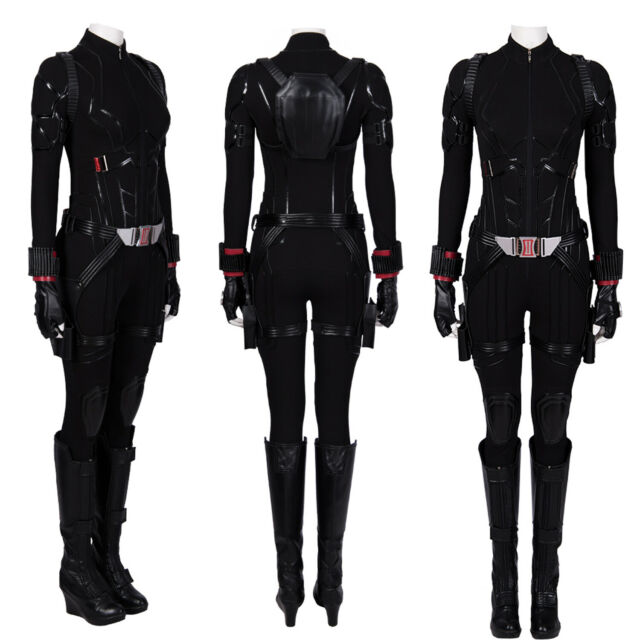 Avengers 4 Endgame Black Widow Costume Natasha Romanoff Women Cosplay Costume