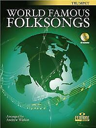 World Famous Folksongs  Trumpet  Book with CD F 906-400