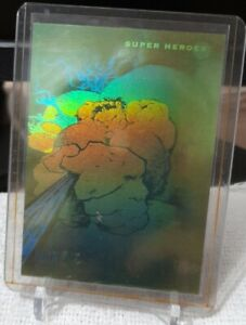 IMPEL 1992 Marvel Universe Series 3 HULK Hologram Card