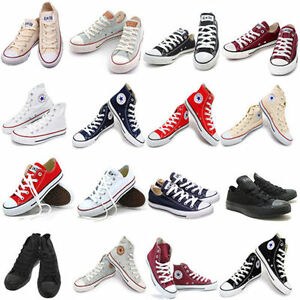 Converse-Chuck-Taylor-AS-CORE-Low-Hi-Sneakers-All-Star-Men-Women-All-Size