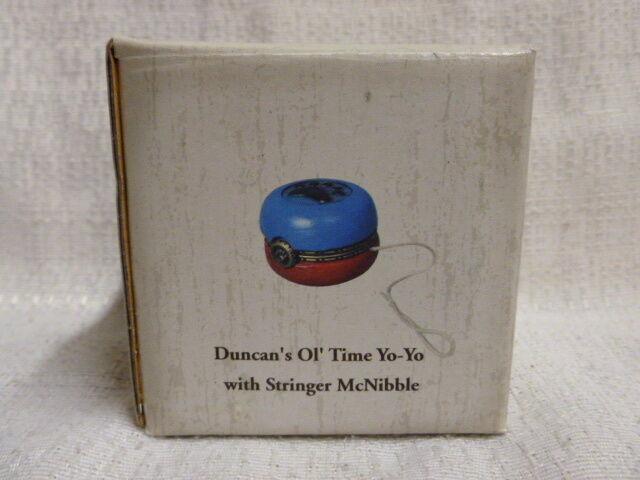 Boyds Bear Duncan's Yo Ol Time Yo Yo Duncan's W  Stringer McNibble Treasure Box 1E 4022174 1b7b4c