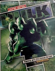 Hulk-Steelbook-2-Disc-Blu-ray-DVD-2013-Marvel-Eric-Bana-Ang-Lee-Stan-Lee