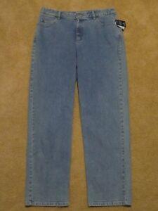 76876b9c53a New Women s Liz Claiborne Straight Leg Fit Stretch Lt Blue Jeans ...