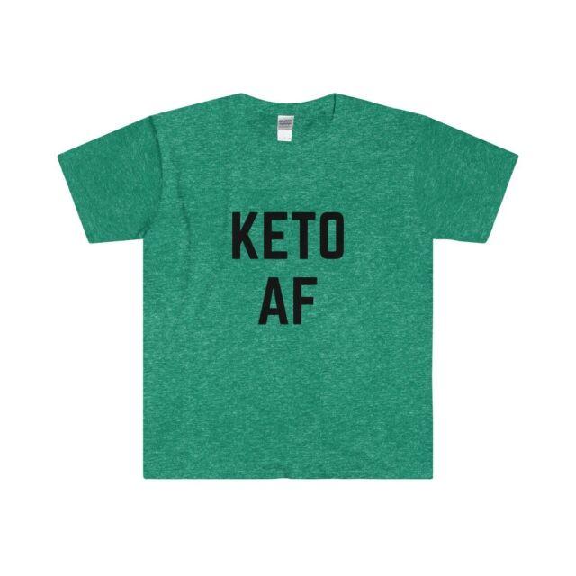 Keto Fueled By Ketones Hanes Tagless Tee T-Shirt