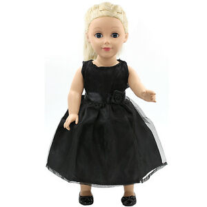 "Hot~ Fits 18/""  inch Doll 43cm Baby Dolls Handmade fashion Doll Clothes dress"