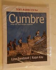 Cumbre Text Audio CD 2014 Cengage Learning 9781111838218