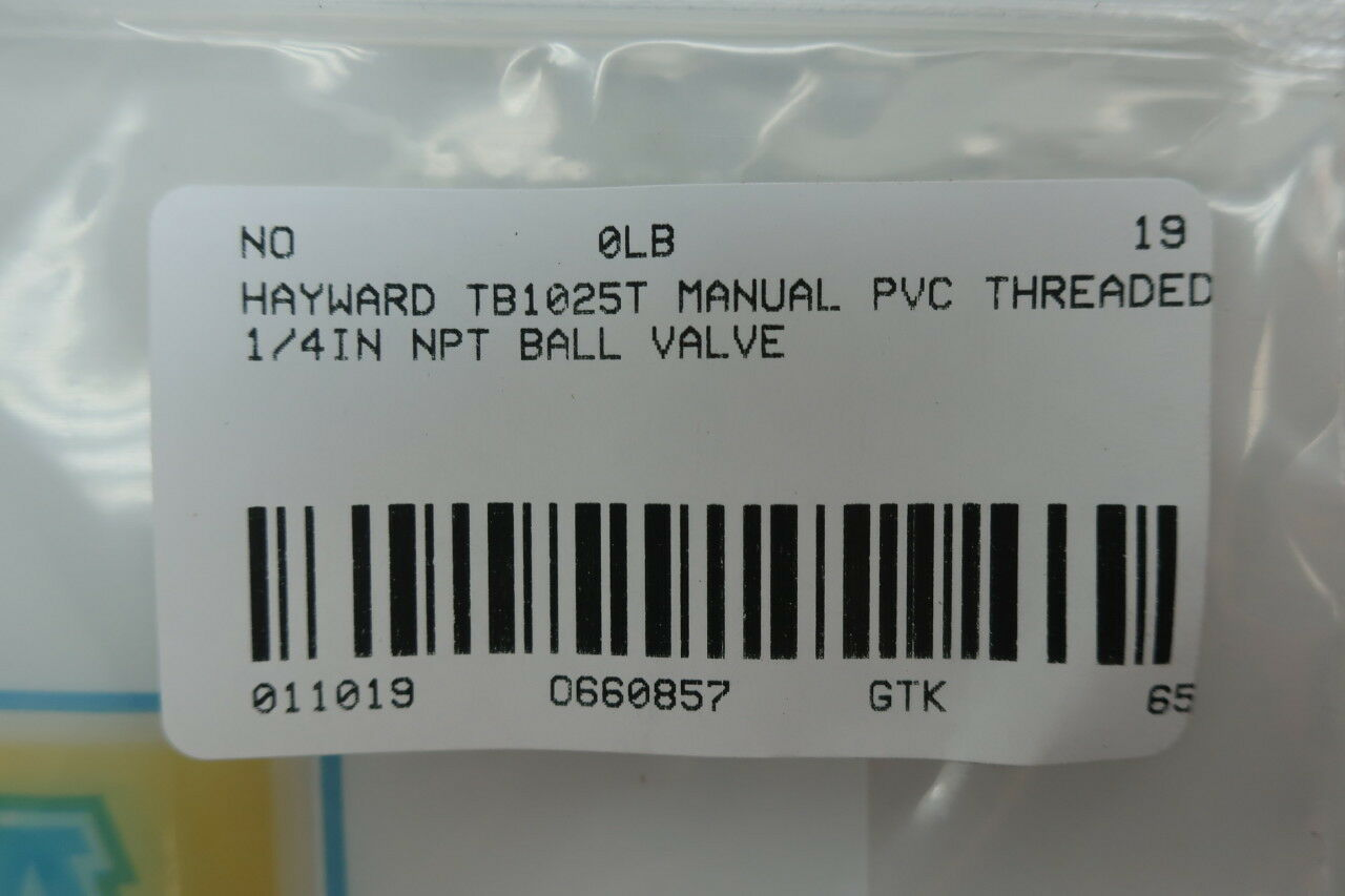 HAYWARD TB1025T NEW IN BOX TB1025T