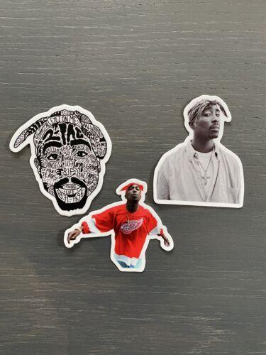 2Pac Vinyl Sticker Pack High Quality HIP HOP Rap Lot Tupac 3