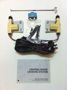 For-VW-T4-Designer-Central-Locking-Kit-2-Front-Doors-Brand-New