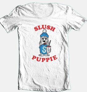Slush-Puppy-T-shirt-retro-80-039-s-vintage-100-cotton-graphic-printed-tee