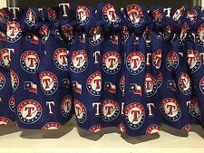 Item 4 NEW MLB Texas Rangers Baseball Sports Valance Curtain
