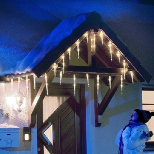 LED stalactites de glace Guirlande lumineuse 32 cônes kaltweiß Konstsmide 2736-202