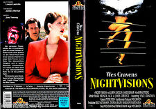 """VHS - """" Wes Craven's Night VISIONS """" (1990) - James Remar"""